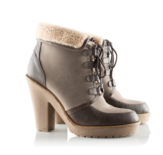 H&m Imitation Leather Boots