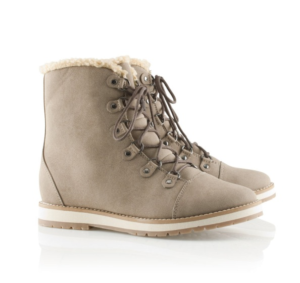 H&m Lace-up Boots in Imitation