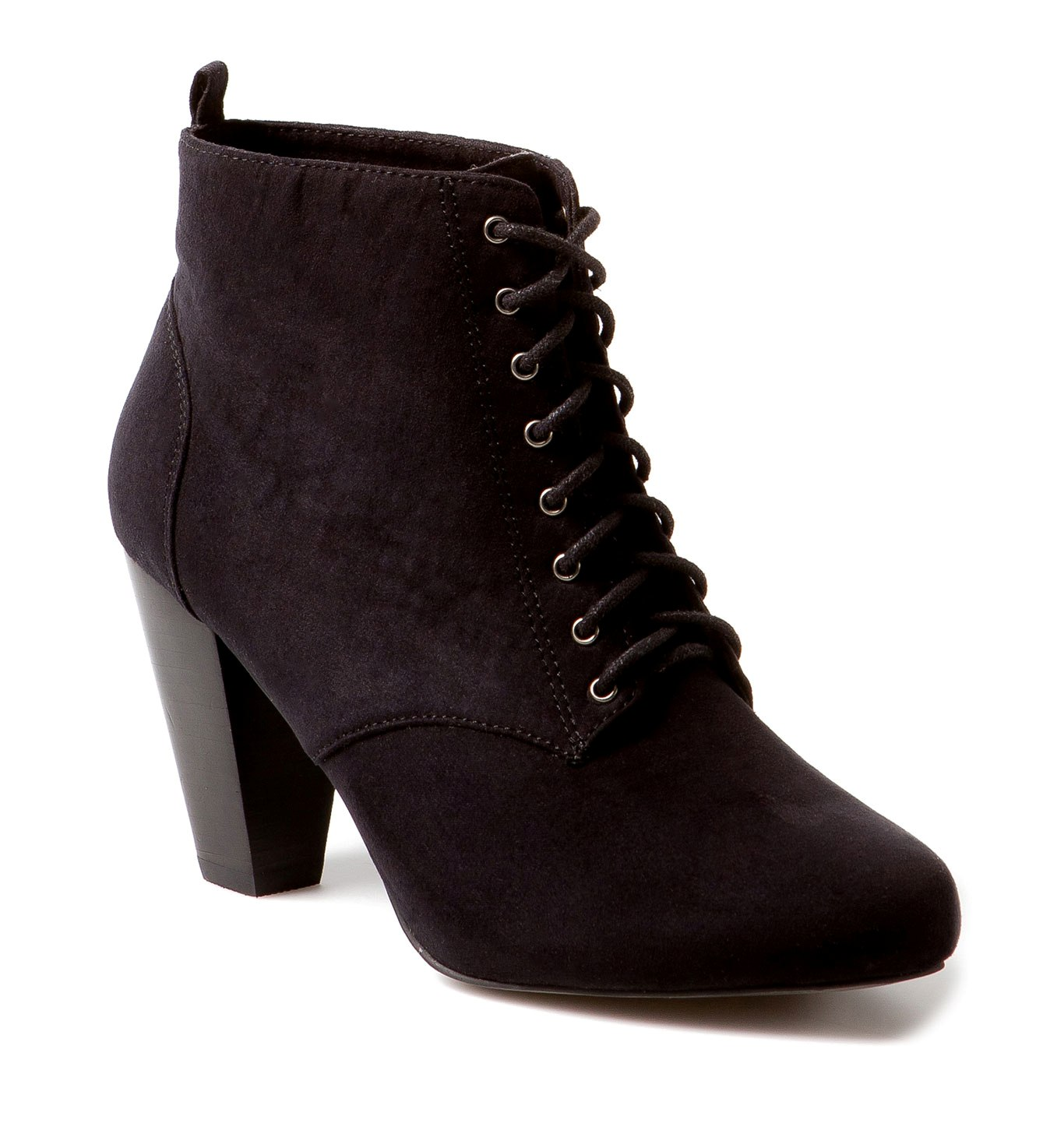 ankle boots lace up heels is heel